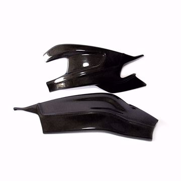 Picture of Carbon Racing swingarm protector suitable for BMW S 1000RR