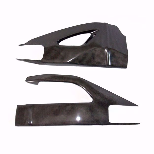 Picture of Carbon Racing Swingarm Protector suitable for Suzuki GSXR 1000 K7-K8