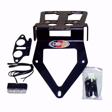 Picture of Carbon license plate holder suitable for BMW R 1200S
