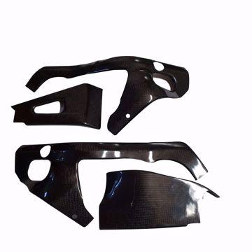 Bild von Carbon Racing Rahmen- und Schwingenschonerset passend für Honda CBR 600