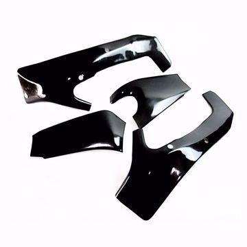 Bild von Carbon Racing Rahmen- und Schwingenschonerset passend für Kawasaki ZX 6