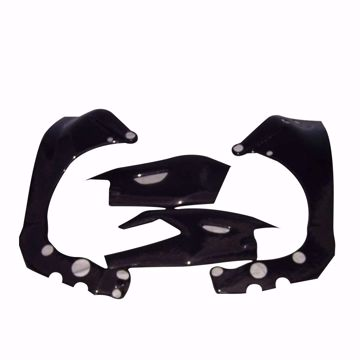Picture of Carbon Racing frame and swingarm protector set fits Yamaha R1