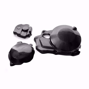 Picture of Carbon Racing cover protector set suitable for Kawasaki ZX 10