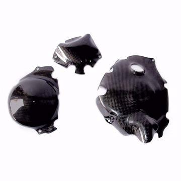 Bild von Carbon Racing Deckelschonerset passend für Yamaha R1