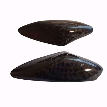 Picture of Carbon Racing tank protectors suitable for Yamaha R6