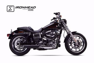 Bild von IRONHEAD Endschalldämpfer, passend für Harley-Davidson Dyna Low Rider