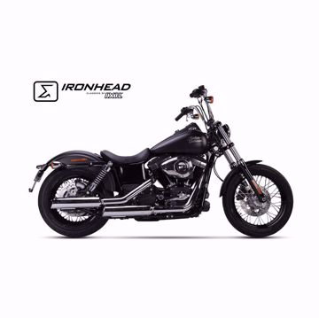Bild von IRONHEAD Endschalldämpfer, passend für Harley-Davidson Dyna Street Bob
