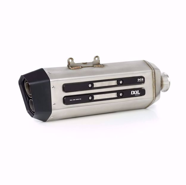 Picture of IXIL MXT stainless steel muffler BMW R 1200/1250 GS
