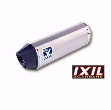 Bild von IXIL Endschalldämpfer HEXOVAL XTREM Evolution SHORTY, passend für Hyosung GT 125/250 Comet