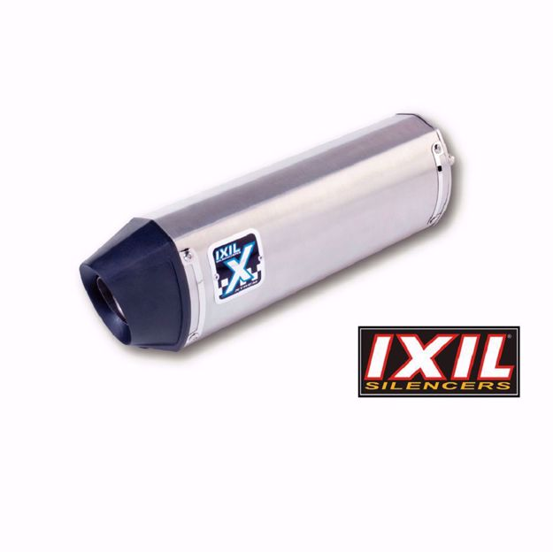 Picture of IXIL Rear silencer HEXOVAL XTREM Evolution, Triumph Tiger 800/XC