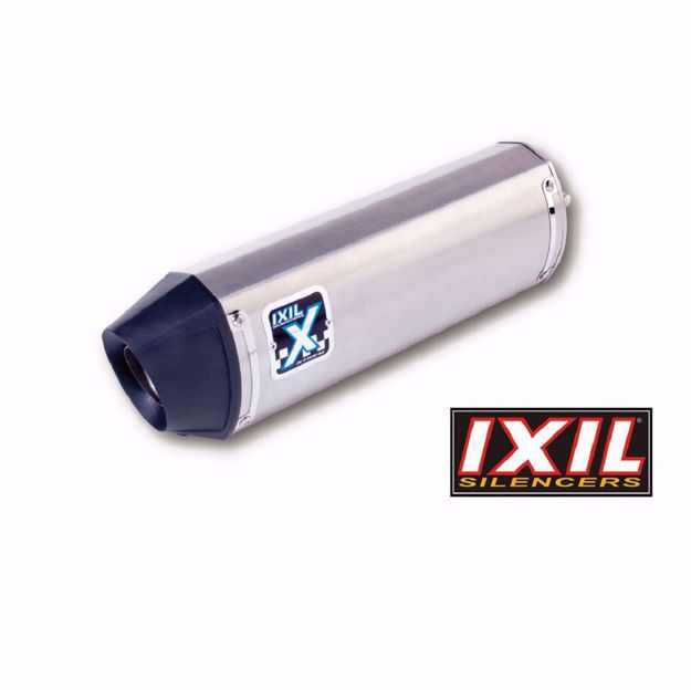 Picture of IXIL Rear silencer HEXOVAL XTREM Evolution, Kawasaki Versys 1000, silver