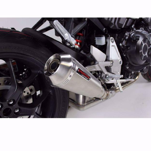Bild von TAKKONI Endschalldämpfer, passend für KTM Duke 125/390, RC 125/390