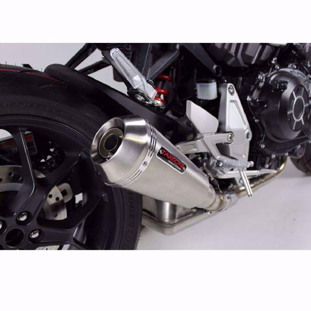 Bild von TAKKONI Endschalldämpfer, passend für Honda X-ADV 750