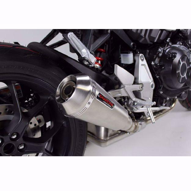 Bild von TAKKONI Endschalldämpfer, passend für Honda CB 1000 R
