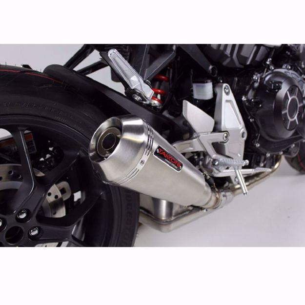 Bild von TAKKONI Endschalldämpfer, passend für Kawasaki Z 800e, ZR800C, ZR800D