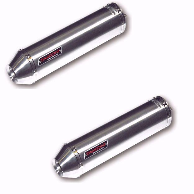 Bild von TAKKONI Endschaldämpfer, passend für Kawasaki Z 1000, Z 1000 SX