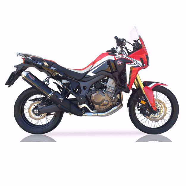 Picture of TAKKONI Rear silencer Honda CRF 1000 L Africa Twin