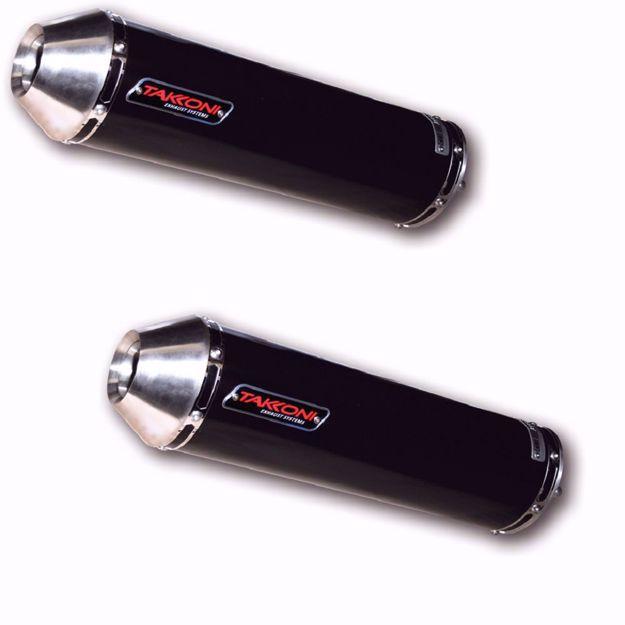 Bild von TAKKONI Endschalldämpfer, passend für Yamaha BT 1100 Bulldog