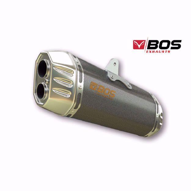 Bild von BOS Endtopf Desert Fox, passend für Suzuki DL 1000 V-Strom