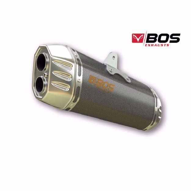 Picture of BOS Rear silencer Desert Fox Suzuki DL 1000 V-Strom