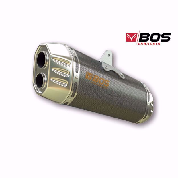 Picture of BOS Rear silencer Desert Fox BMW R 1200 R/RS