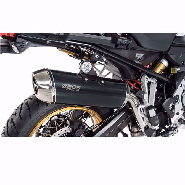 Picture of BOS Rear silencer Dune Fox BMW F 750 GS, F 850 GS, Adventure