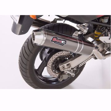 Picture of BOS Rear silencer carbon-steel Yamaha TRX 850