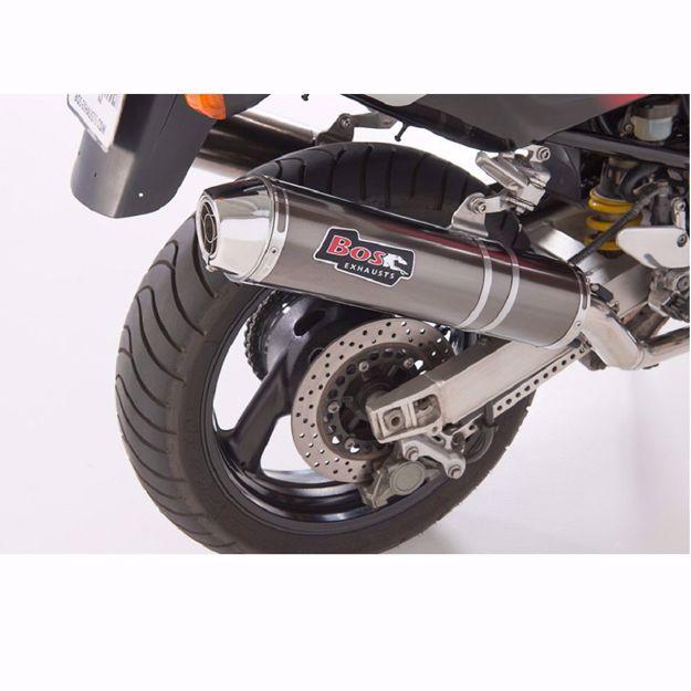 Bild von BOS Endschalldämpfer carbon-steel, passend für Yamaha TRX 850