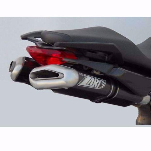 Picture of ZARD Rear silencer PENTA APRILIA Dorsoduro, Alu black