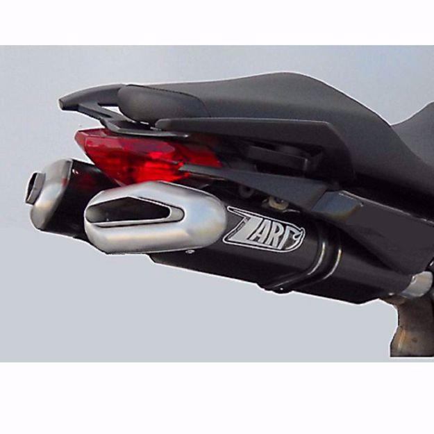 Bild von ZARD Endschalldämpfer PENTA, passend für APRILIA SL 750 Shiver, Alu schwarz