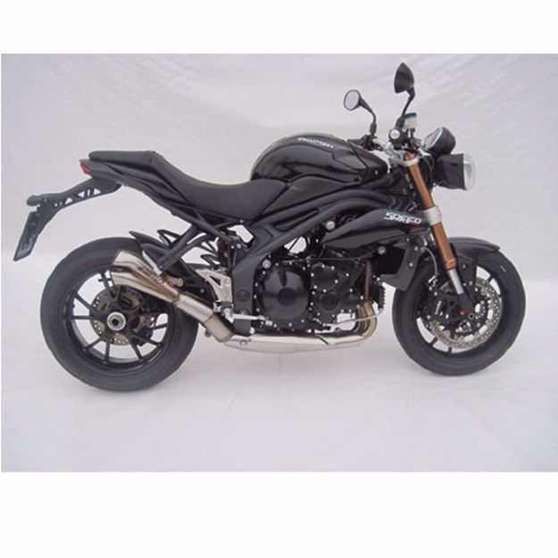 Picture of ZARD Rear silencer V2 Triumph Speed Triple 1050