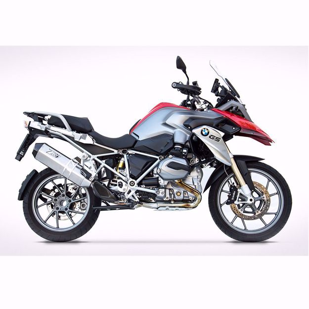 Picture of ZARD Rear silencer PENTA, suitable for BMW R 1200 GS, stainless steel