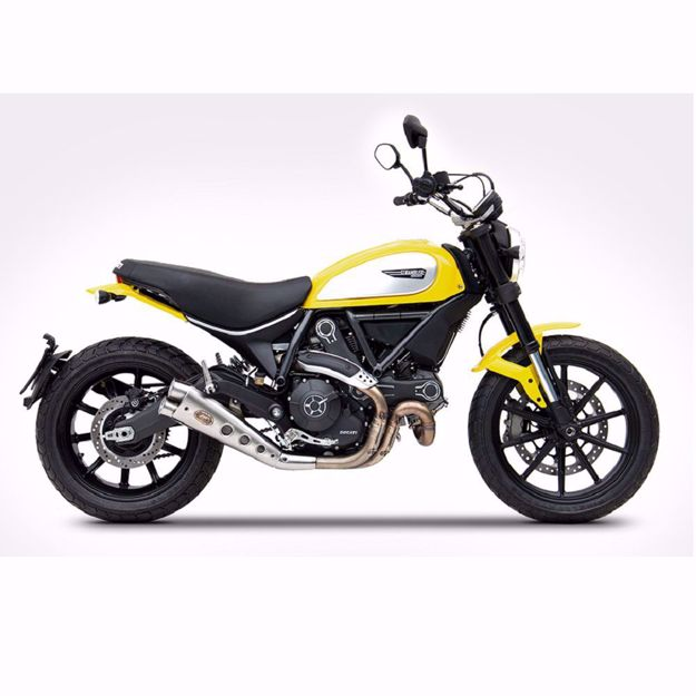 Picture of ZARD Rear silencer stainless steel, Special Edition, DUCATI Scrambler 800