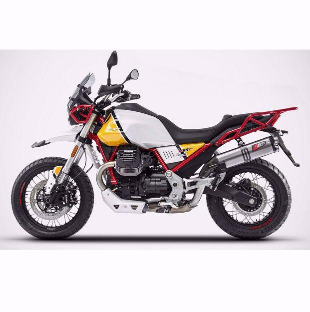 Bild von ZARD 2-1 Slip on Endschalldämpfer, passend für MOTO GUZZI V85 TT