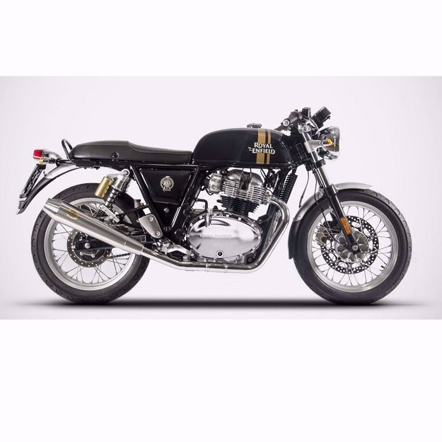 Picture of ZARD Rear silencer Royal Enfield Continental GT/Interceptor