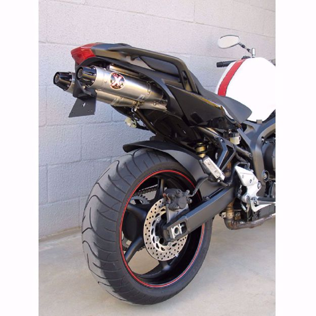 Picture of IXIL UNDER SEAT CONICAL XTREM Rear silencer, Yamha FZ 6 Fazer