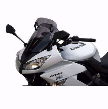 Picture of MRA Vario touring screen, suitable for Kawasaki ER 6 F